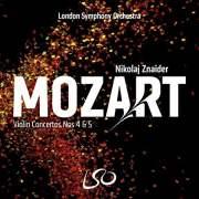 Nikolai Znaider, Mozart Violin Concerti, Album Cover