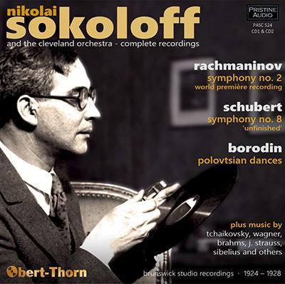 Nikolai Sokoloff and the Cleveland Orchestra: Complete Recordings, 1924-28 – The Cleveland Orchestra. Nikolai Sokoloff – Pristine Audio