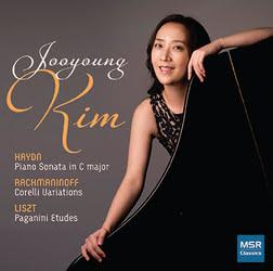 HAYDN: Piano Sonata; RACHMANINOFF: Corelli Variations; LISZT: Paganini Etudes – Jooyoung Kim – MSR