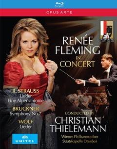 Renee Fleming in Concert – Salzburg Festival 2011-12 – Strauss/Wolf/Bruckner – Blu-ray – Opus Arte