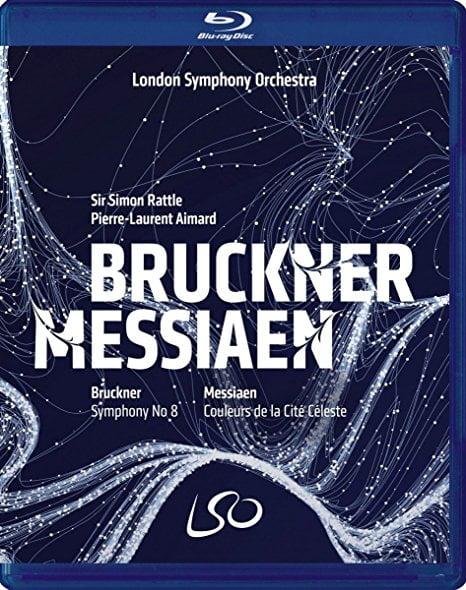BRUCKNER: Symphony No. 8; MESSIAEN: Couleurs de la Cité Céleste – London Symphony Orchestra / Simon Rattle (cond) / Pierre-Laurent Aimard (piano) – LSO Live