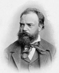Portrait of Antonin Dvorak