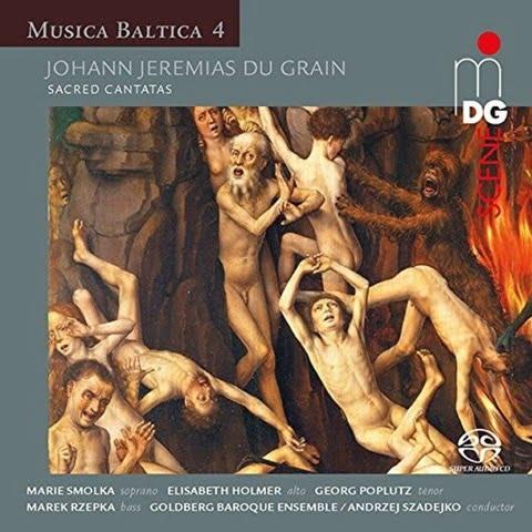 Musica Baltica Vol.4: Du Grain – Sacred Cantatas- Goldberg Vocal/Broque Ensemble – Conductor: Andrzej Szadejko- MDG