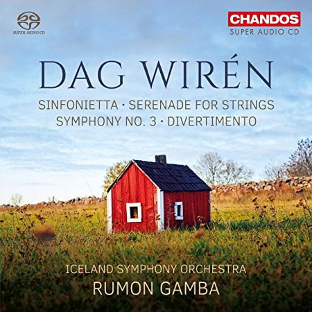 DAG WIREN: Symphony No. 3 – Iceland Symphony Orchestra/Rumon Gamba – Chandos