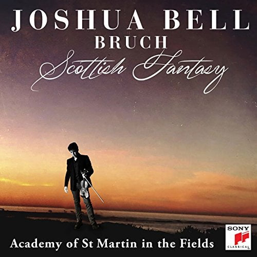 BRUCH: Scottish Fantasy; Violin Concerto – Academy of St Martin in the Fields/ Joshua Bell, violin and conductor – Sony