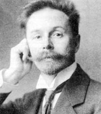 Portrait of Alexander Scriabin