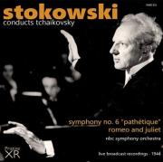 Tchaikovsky by Stokowski, cover for Pristine Audio Album