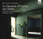 La Descente d'Orphée aux Enfers, by Ensemble Correspondances / Sébastien Daucé, Album Cover
