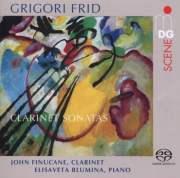 Grigori Frid Clarinet Sonatas, Album Cover