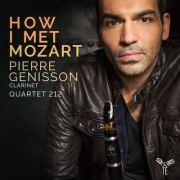 "Pierre Génisson, ""How I Met Mozart"" Album Cover"