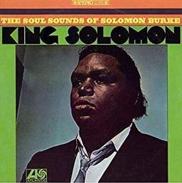 "Solomon Burke, ""King Solomon"" album cover"