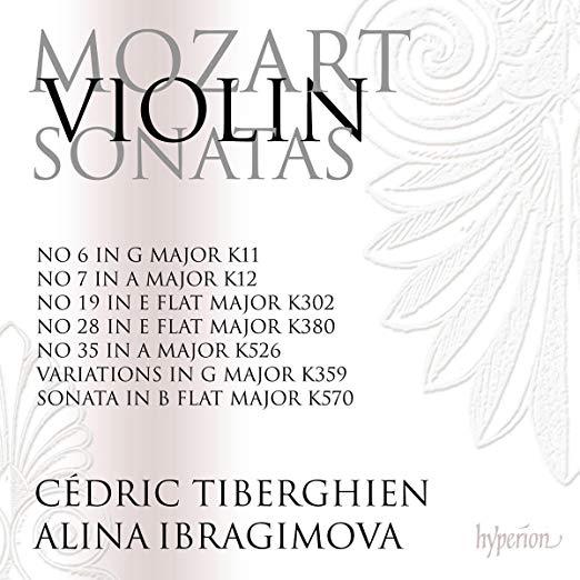 MOZART: Violin Sonatas, Vol. 5 – Alina Ibragimova, Cédric Tiberghien – Hyperion
