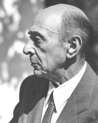 Portrait Arnold Schoenberg