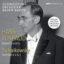 Rosbaud Conducts Tchaikovsky, Album Cover