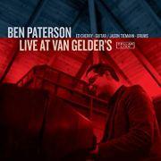 Ben Paterson, Live at Van Gelder's, Album Cover