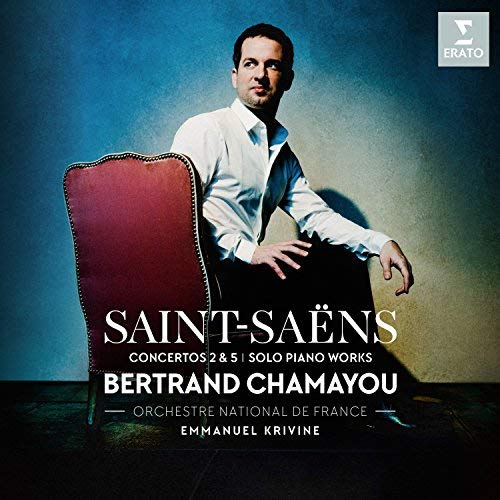 SAINT-SAËNS: Piano Concerto No. 2 & No. 5 in F Major – Bertrand Chamayou/ Orchestra National de France – Erato