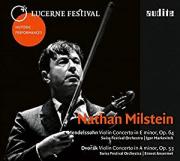 Nathan Milstein, Concertos, Album Cover