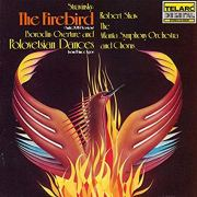 Stravinsky Firebird, Vinyl Album Cover, Telarc Records