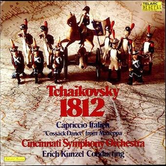 Cincinnati Symphony Orchestra – Tchaikovsky 1812 Overture – Erich Kunzel – Telarc Records