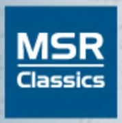 Logo MSR Classics