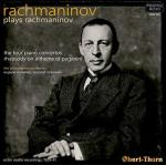 RACHMANINOV plays RACHMANINOV = The Four Piano Concertos & Rhapsody on a Theme of Paganini - Philadelphia Orchestra - Pristine