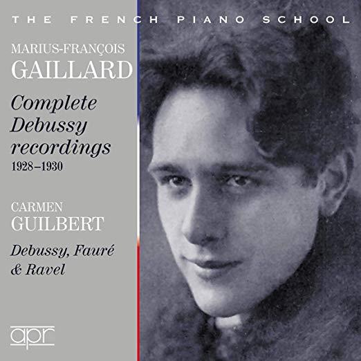 Marius-Francois Gaillard: Complete Debussy Recordings 1928-1930 – APR