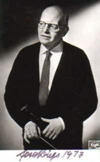 Portrait of Josef Krips