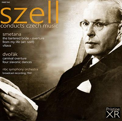 Szell conducts Czech Music = Works by SMETANA; DVORAK – Pristine Audio
