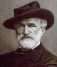 Giuseppe Verdi, photo by Giacomo Brogi