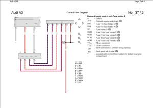 Pin Out  Wiring Diagram (Rear LED cluster) | AudiSport