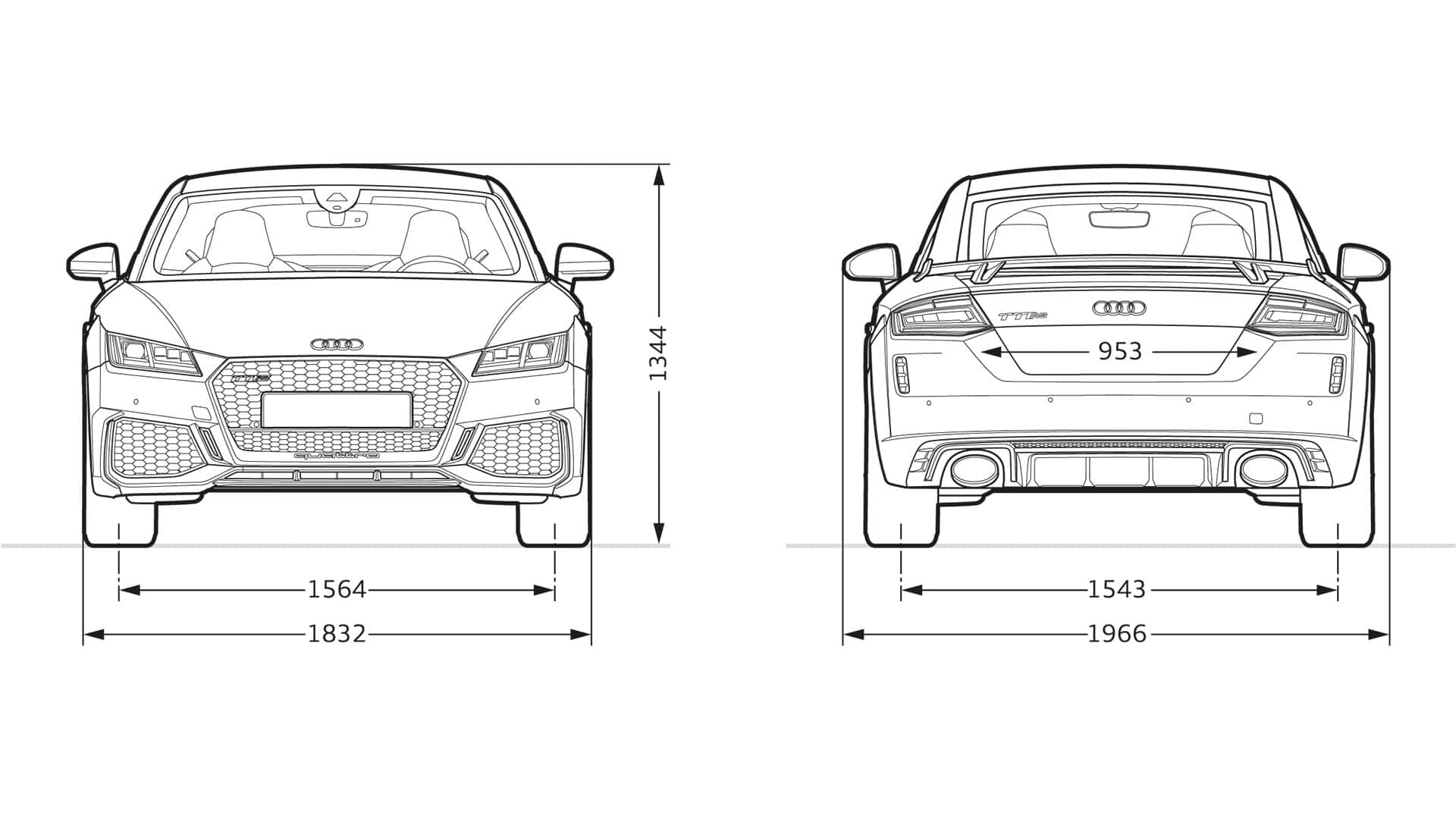 Layer Dimensions Gt Tt Rs Coupe Gt Tt Gt Audi Canada