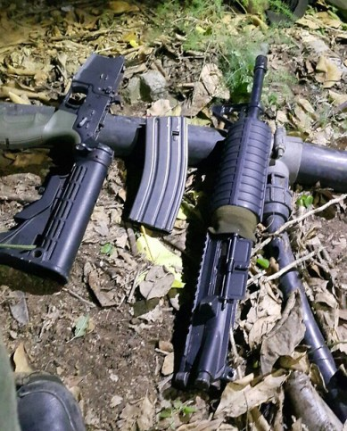 M4-Waffen. Foto IDF Sprecher.