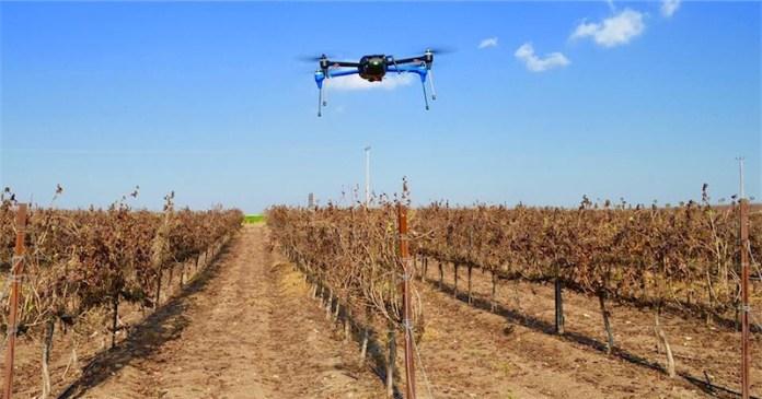 Airscort Drohne im Einsatz. Foto Airscort
