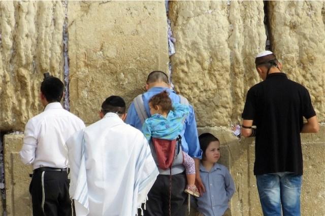 Klagemauer in Jerusalem. Foto CC0 Public Domain