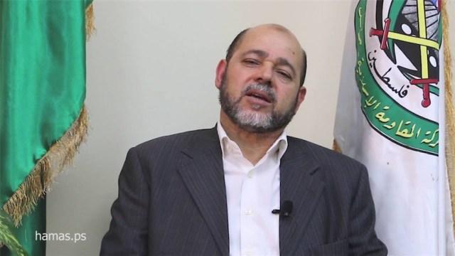 Der Vertreter der Hamas, Moussa Abu Marzouk. Foto Screenshot Youtube