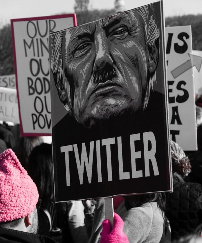 Foto bradhoc - Women's March Chicago, CC BY 2.0, Wikimedia Commons.