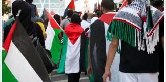 Pro-Gaza Demo in Berlin 2014. Foto Montecruz Foto, Flickr.com, (CC BY-SA 4.0)
