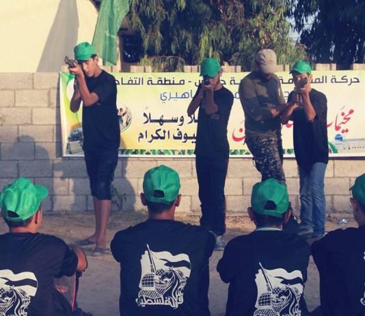 Indoktrinierung von Kindern - Hamas Sommercamps 2017. Foto Facebook / Hamas