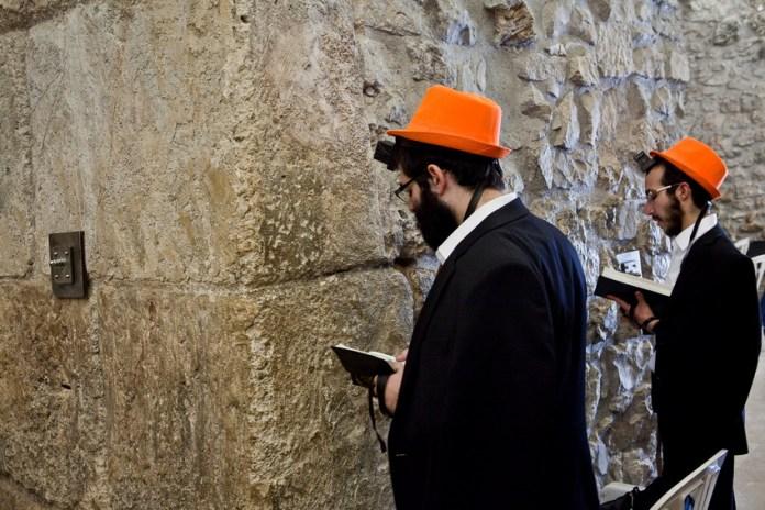 Purim an der Klagemauer 2015. Foto © Shlomo Taitz