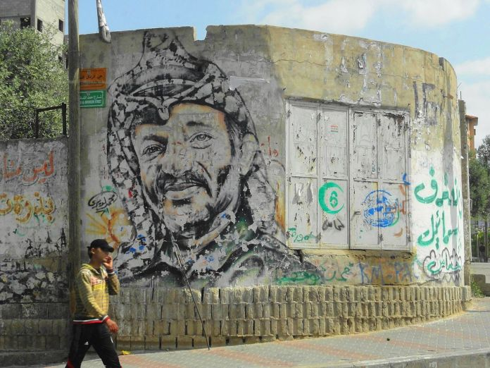 Arafat. Foto Mujaddara, CC BY-SA 3.0, https://commons.wikimedia.org/w/index.php?curid=53332377