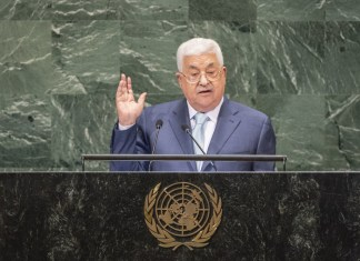 Mahmoud Abbas. Foto UN Photo/Cia Pak