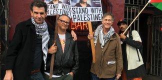 Unterstützung für Alexandria Occasio-Cortez von der Israel-Boykottbewegung BDS. Foto Twitter / BDSlist