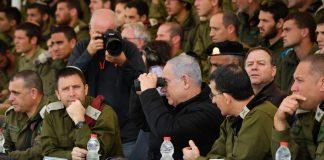 Symbolbild. Der israelische Premierminister Binyamin Netanyahu zu Besuch auf der Shizafon-Basis im Süden Israels. Foto Flash90