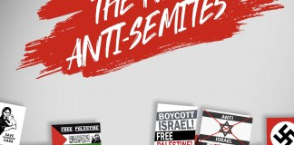 """Foto Screenshot """"The Radicalization Mechanism of the BDS Movement and the Delegitimization Campaign Against Israel"""", Zachor Legal Institute, StopAntiSemitism.org"""