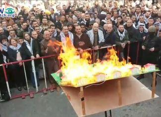 Foto Screenshot Fatah-Facebook-Seite - Nablus, 6. Januar 2020