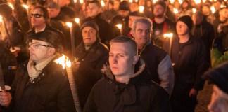 Deutsche Neonazis bei Lukov-Gedenken in Sofia. Foto Grischa Stanjek/democ. e. V.