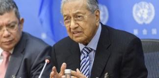 Mahathir bin Mohamad, Premierminister von Malaysia. Foto UN Photo/Loey Felipe