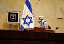 Desinfektion der Knesset inmitten der Coronavirus-Krise am 16. März 2020. Foto Knesset-Sprecherin