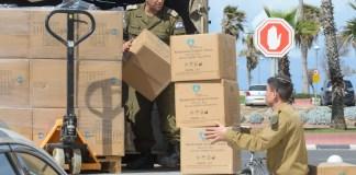 Das Heimatfrontkommando bereitet die Umwandlung des Hotels Dan Panorama in Tel Aviv in eine Quarantäneeinrichtung vor. Foto Kobi Richter/TPS