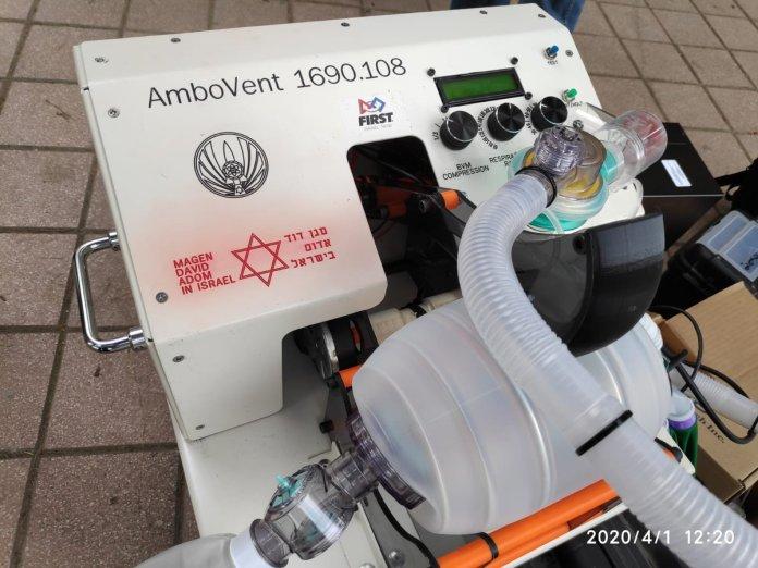 Das AmboVent-System wurde als Open Source Code entwickelt und am 2. April 2020 veröffentlicht. Foto Twitter